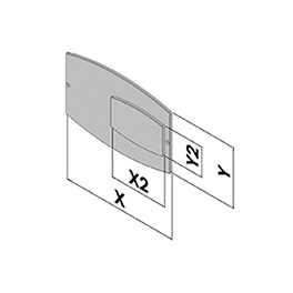 Přední panel EC50-640-35