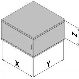 Plastová skříňka EC30-430-0