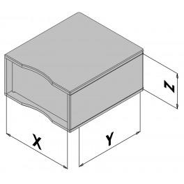 Plastová skříňka EC30-430-6