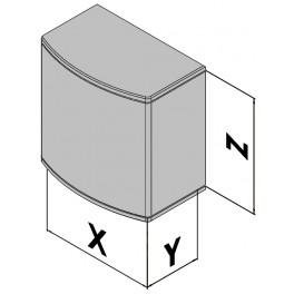 Plastová skříňka EC30-470-37
